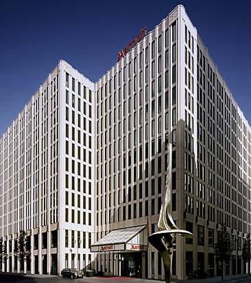 The Berlin Marriott Is A Category 6 Hotel Located Right In Between Tiergarten And Potsdamer