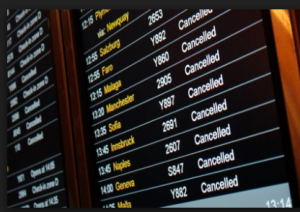 A board full of canceled flights is every traveler's nightmare.