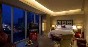 Executive Junior Suite at the Hilton Beijing.