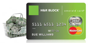 Luckily there are still other options out there like H&R Block's Emerald card.