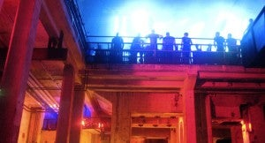 The legendary night spot Berghain/Panoramabar is located in a sprawling former power plant.