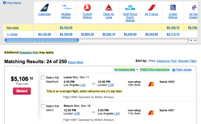 Cheap Thanksgiving Business Class Flights To Europe Are