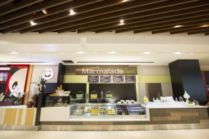 Popular Los Angeles eateries such as Marmalade Cafe will be serving their signature culinary creations to tired travelers.
