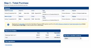 Miami to Bogota prices out at $698.90 round trip.