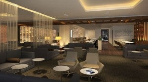 The new Star Alliance Lounge will feature an outdoor balcony for sunbathing or plane-watching.