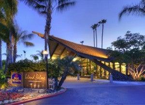 Best Western Island Palms Hotel & Marina.