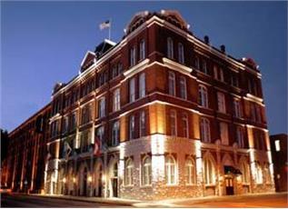 Days Hotel At Ellis Square in Savannah, GA.