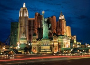 MGM's New York, New York.