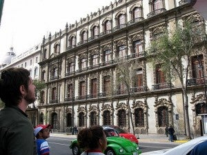 Mexico City is extremely walkable and gives you the chance to take in the historical architecture.