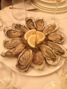 Some of the best oysters I've had.