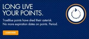 JetBlue points no longer expire!