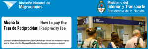 Some countries such as Argentina require reciprocity fees to be paid in advance.
