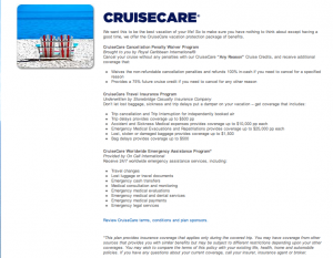 Royal Caribbean Cruise Insurance