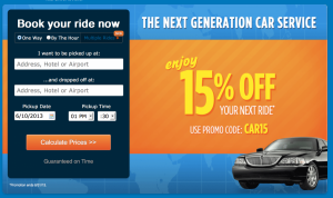 Save 15% with GroundLink when using code CAR15.