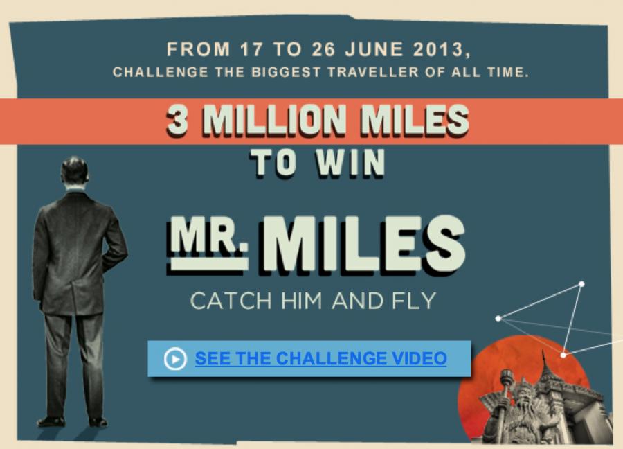 Win Bonus Flying Blue Miles through their contest.