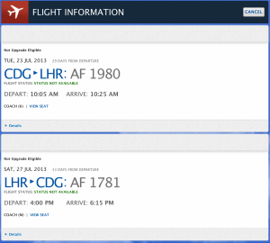 I was able to book an AirFrance flight through Delta.