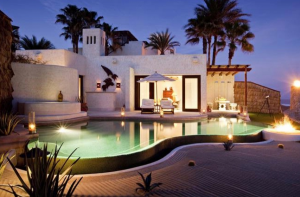 Oceanfront luxury villa at Las Ventanas al Paraiso.