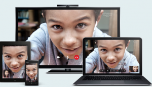 Skype offers free texts and calling to fellow customers on a wide range of devices.