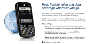 Sprint keeps it simple with flat-rate billing.