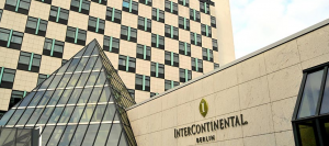 The InterContinental Berlin has 558 minimalist and relatively spacious rooms, along with a Michelin star restaurant.