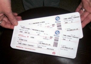 You may have to show proof that you have a return ticket.