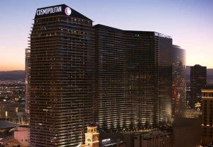 The Cosmopolitan is one of the newer properties in Vegas.