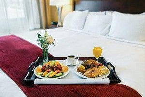 I just want to enjoy breakfast in the comfort of my room.