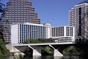 Our winner chose the Radisson Hotel & Suites in Austin.