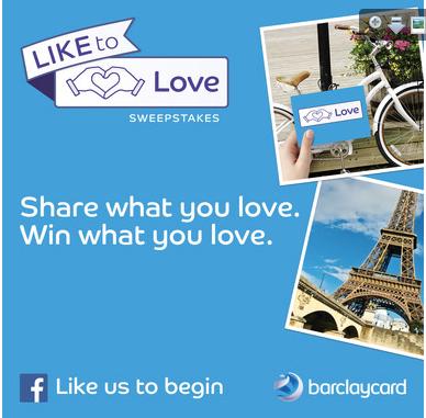 Barclaycard LiketoLove