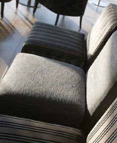 Seating in the British Airways Galleries Lounge