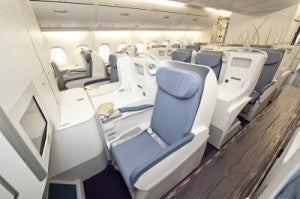 I wouldn't mind mind trying out China Southern's A380 business class myself.