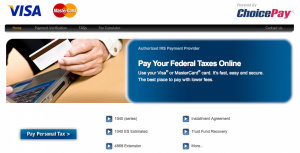Paying your taxes through Choice Pay can be a cost-effective way of unloading your Visa gift cards' value.