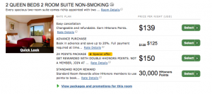 You won't get as much value with Hilton, even with a co-branded credit card and elite status.