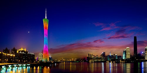Now you can stop off in Guangzhou for 72 hours without an advance visa.