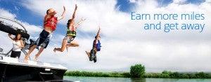 Earn up to a 30% bonus on purchased AAdvantage miles.