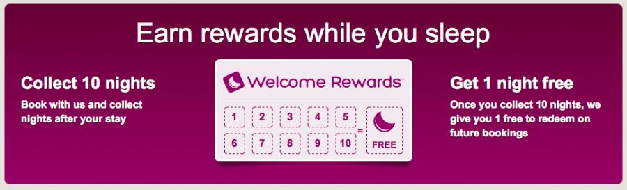 Earn 10% back on your spending with Hotels.com's Welcome Rewards program.