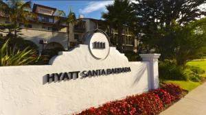 Hyatt targeted members for extra rewards for stays such as at the Hyatt Santa Barbara.