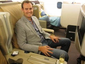 For my 29th birthday I flew on Singapore's all business class A340-500.