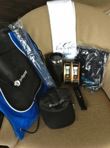 My golf goodies from the Legends