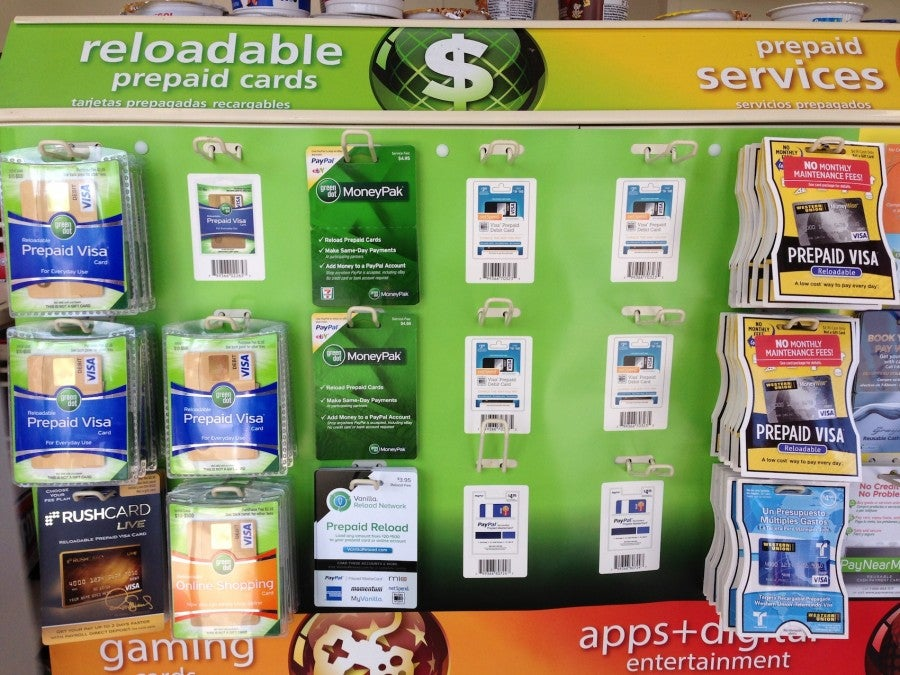 Vanilla Reloads and other reloadable prepaid cards are available in 7-11 in East Northport, NY.
