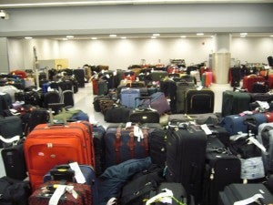 There is nothing more infuriating than losing your luggage.
