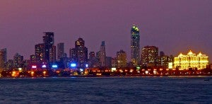 Mumbai at night.