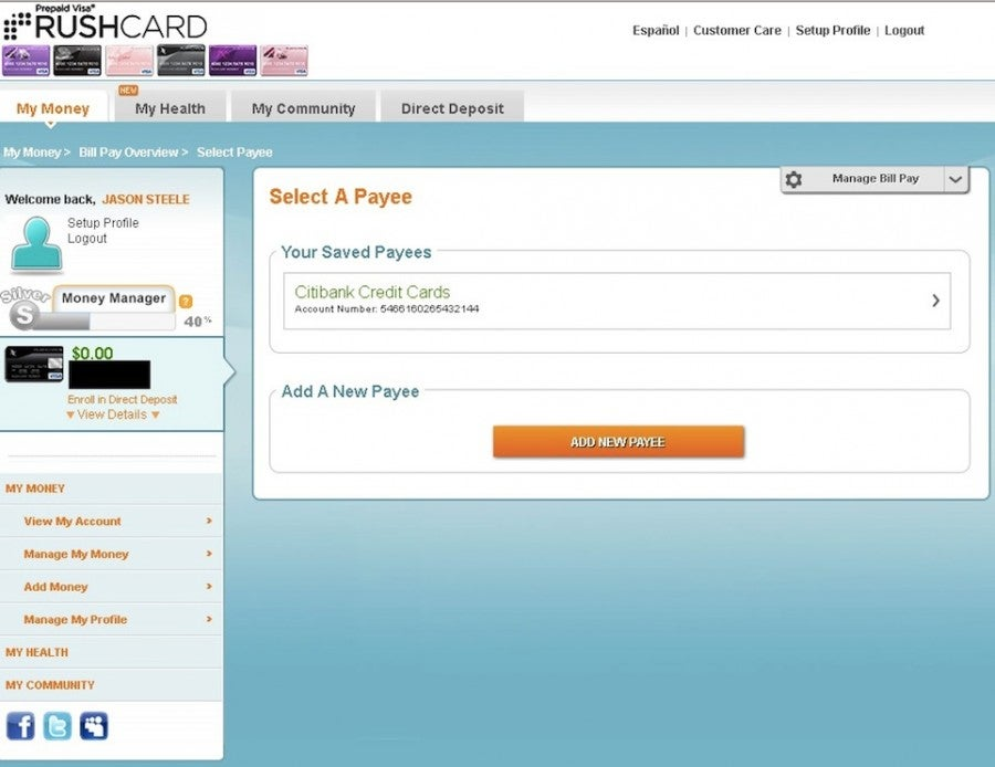 Maximizing RushCard and RushCard Live Prepaid Debit Cards – The ...