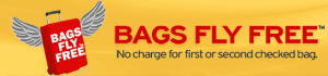 Bags fly free on Southwest.