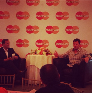 Q&A sessiong with Sir Nick Faldo.
