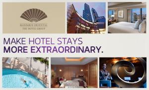 Mandarin Oriental is Virgin America's newest hotel partner.