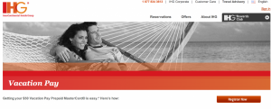 Receive a $50 Vacation Pay Prepaid MasterCard from IHG.