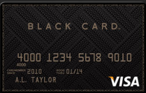 The Visa Black Card comes with a $495 annual fee.