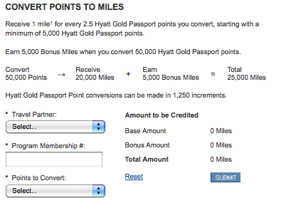 maximize monday transferring hotel points to airline miles the