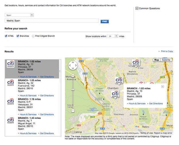 Citibank atm near me - Citibank Near Me - Branch Locations